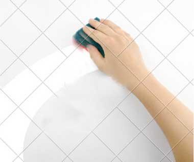 Lavabo vev küvet yüzey temizleme