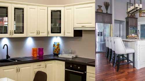 Mutfak dolabı temizliği