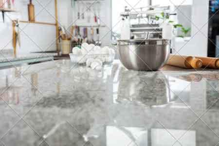 mermer mutfak tezgahlarının temizliği