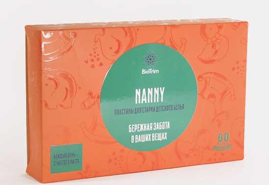 Nanny Bebek giysi tableti